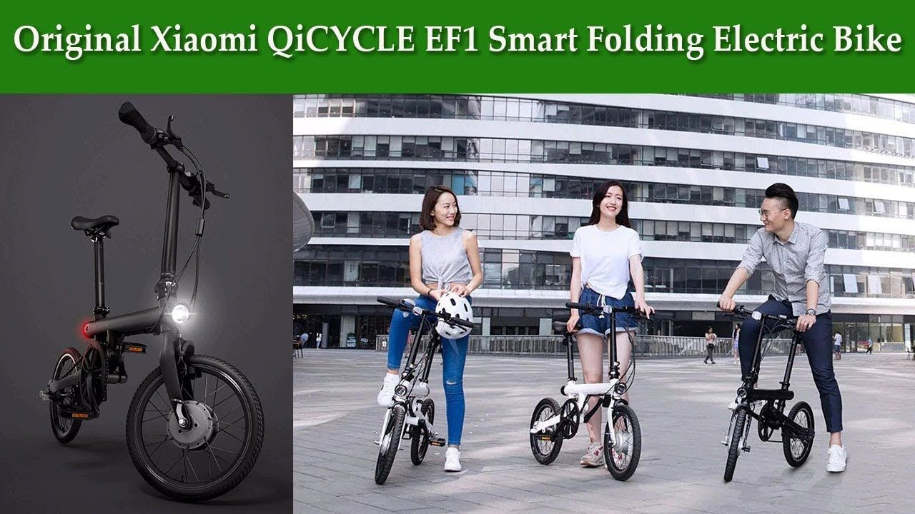 Original Xiaomi Qicycle Ef1 Smart Folding Electric Bike Bicycle