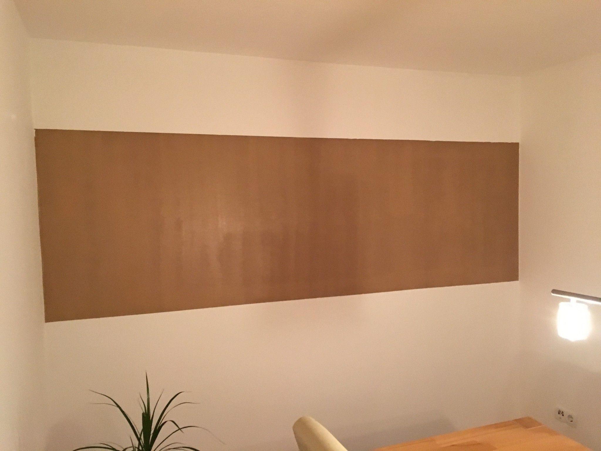 Wand Streichen Zweifarbig saubere kanten streichen mit acryl werkstatt tipps