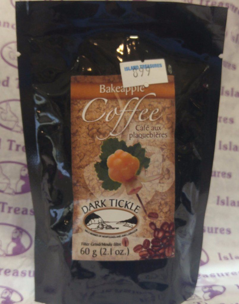 Bakeapple Coffee 60 g Check out our coffee here: https://www.islandtreasures.ca/products/bakeapple-coffee-60-g