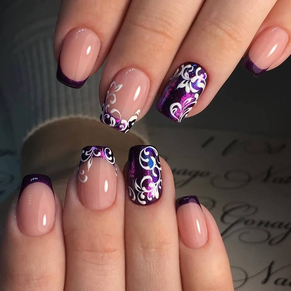 stylish dress before the New Year. There are new nail trends ...