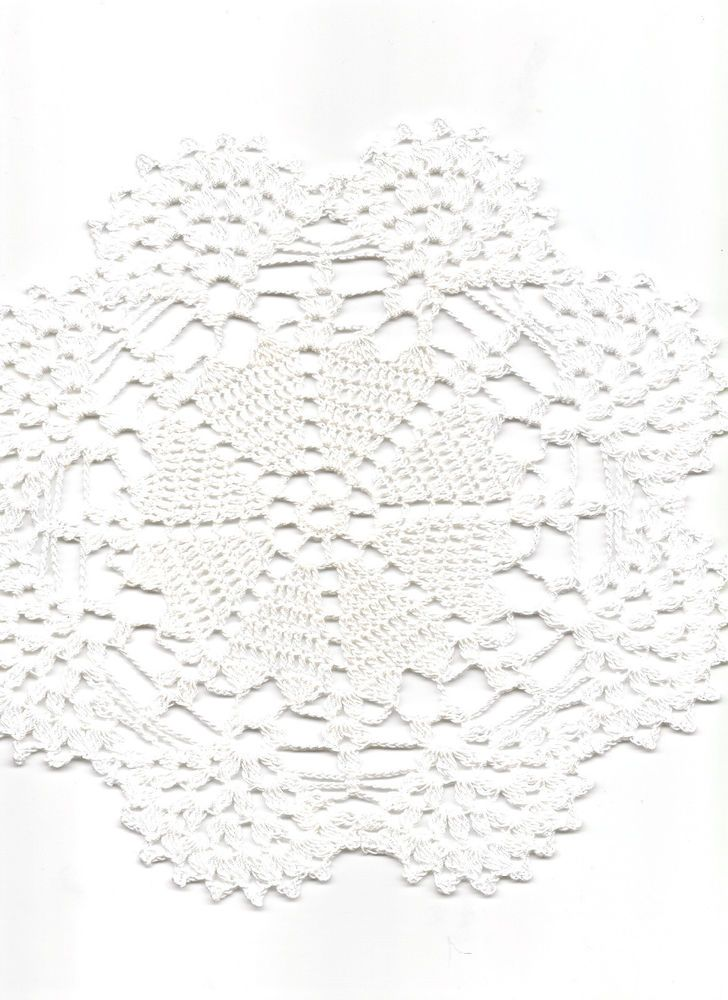 Vintage Style Crochet Lace Doily Doilies Centre Piece Wedding Table