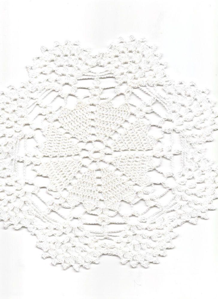 Vintage Style Crochet Lace Doily Doilies Centre Piece