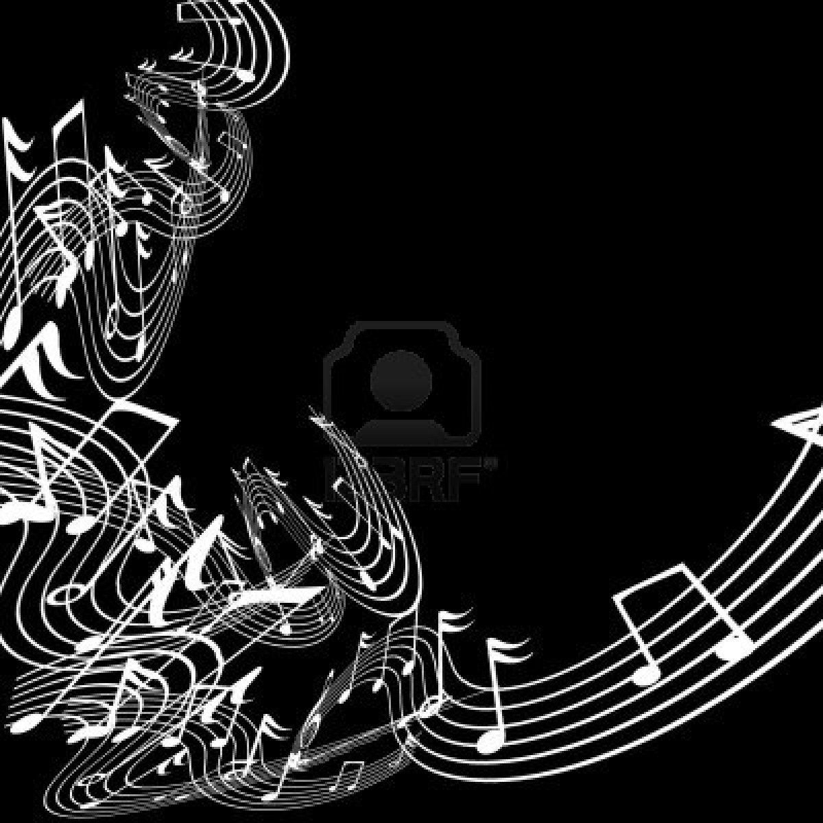 Music Background Images Black And White