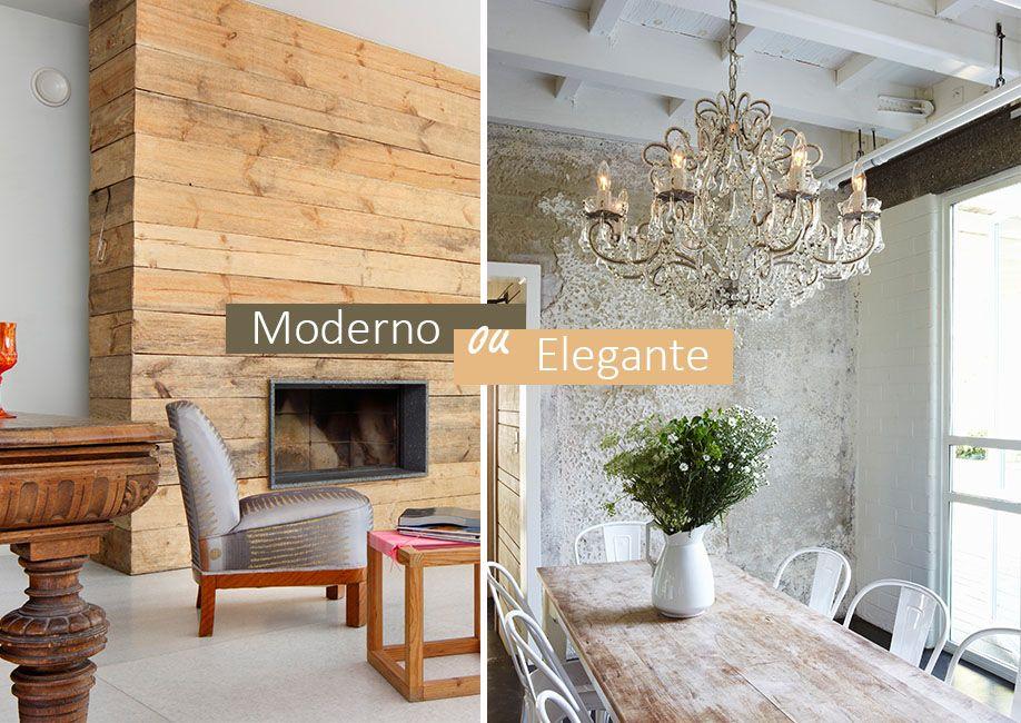 Estilo r stico moderno ou elegante criativo estilo for Rustico moderno