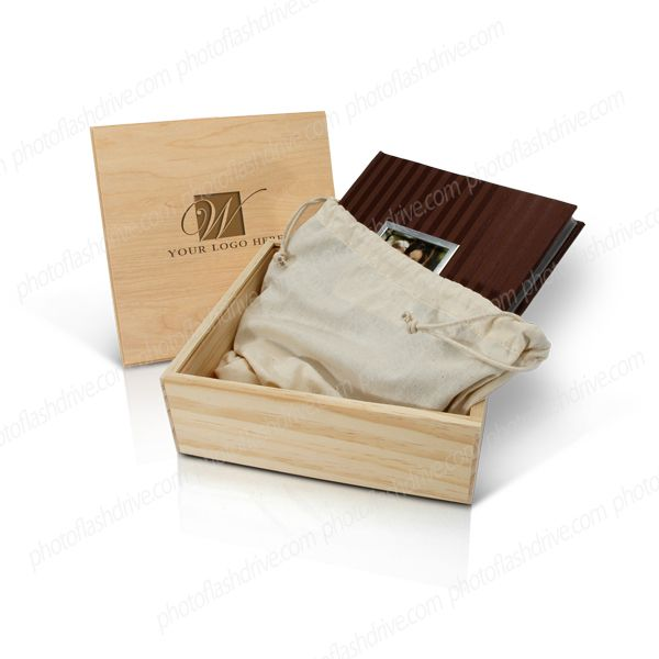 In The Same Style As Our Rustic Wood Boxes With A Sliding Lid These Unfinished Album Boxes Will Fit Most 8x8 10x10 Rustic Wood Box Wine Box Wood Packaging