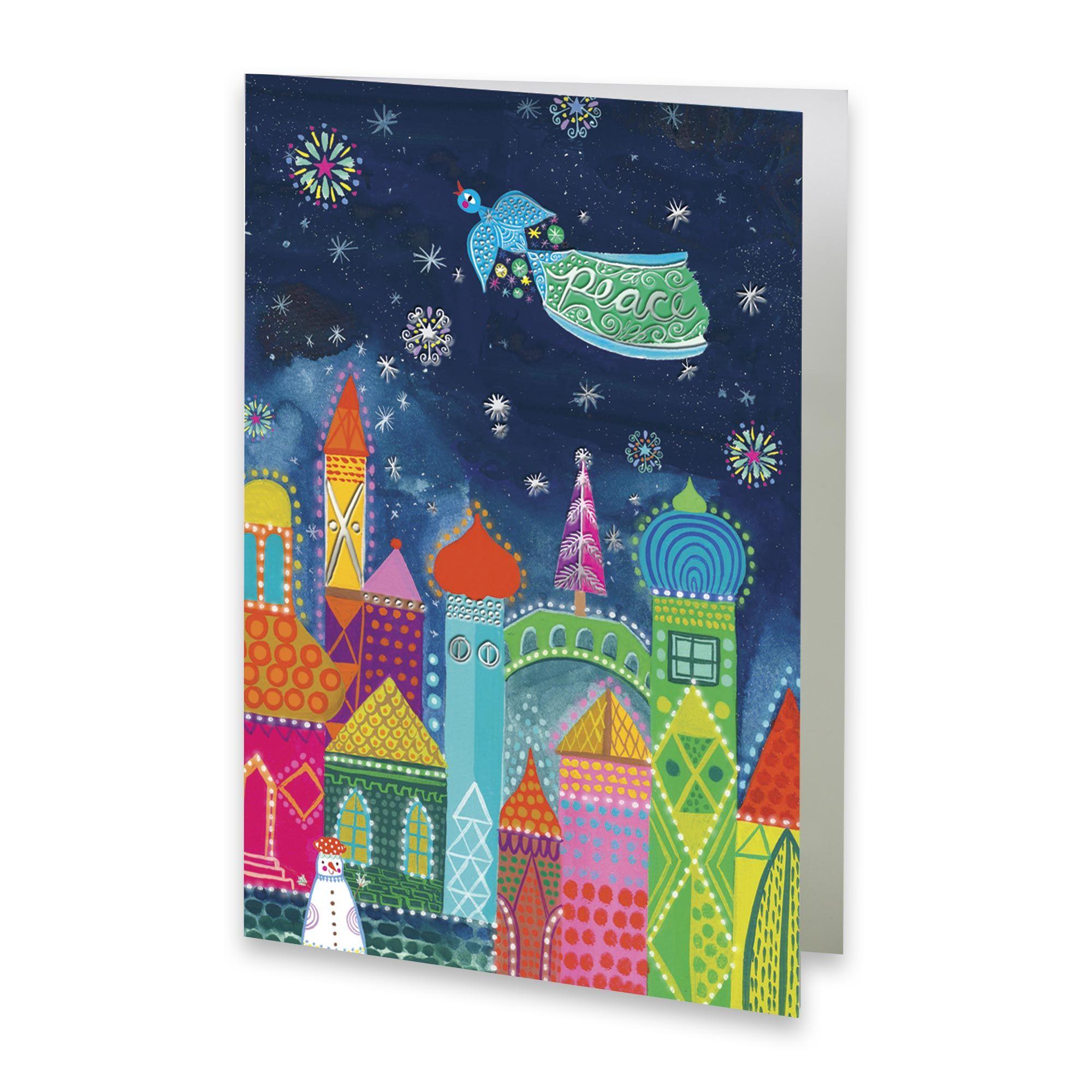 UNICEF Market | UNICEF Holiday Cards Boxed Set - Multicolor City ...