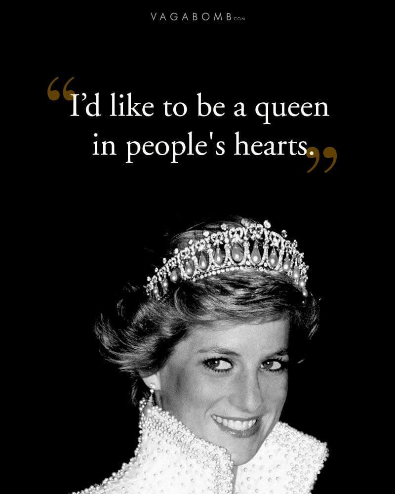 20 Princess Diana Quotes That Are A Reminder Of Why She Will Always Be The Queen In Our Hearts Princesa Diana Princesa Diana De Gales Motivacion De Vida