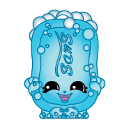 Suds #1-119 Series: Series 1 Team: Health and Beauty Finish: Classic Rarity: Common Range : Shopkins FOUND IN      2 pack     5 pack     12 pack