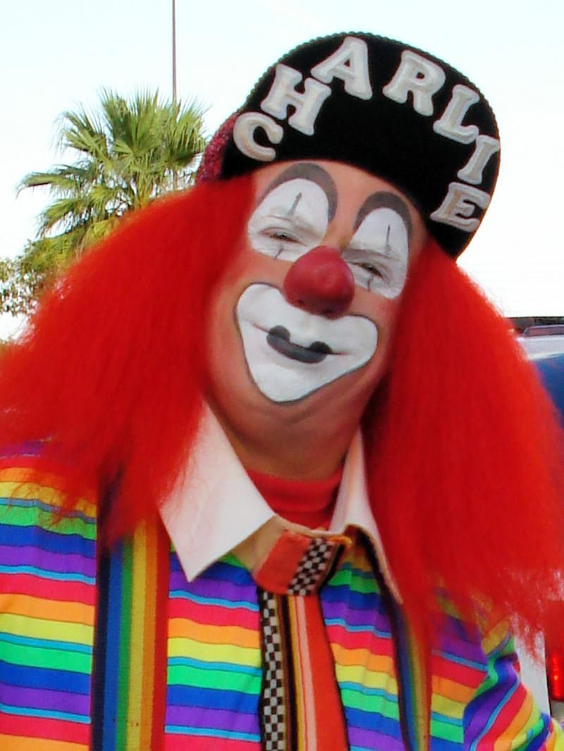 Oh and he said he loves clowns. You can ask gma T if she still knows that one clown that used to come to our parties.