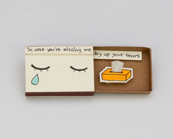 Cute Missing You Card Farewell Card Goodbye Card By ShopXu