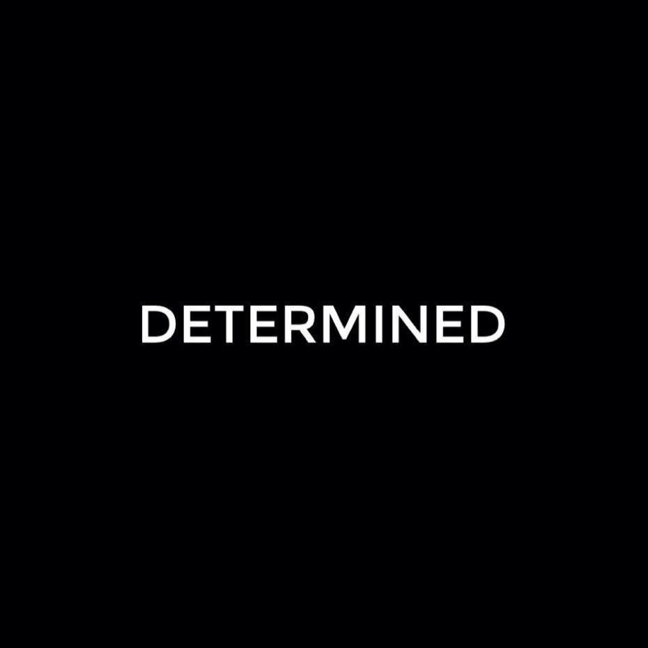 My positive word for this year is DETERMINED. I  will be determined to change, determined to overcome my weaknesses and fears, and determined to step up. I have had goals in the past, goals that I did not reach because of the lack of this. This year, to be successful, I will need to be determined in order to reach my goals.