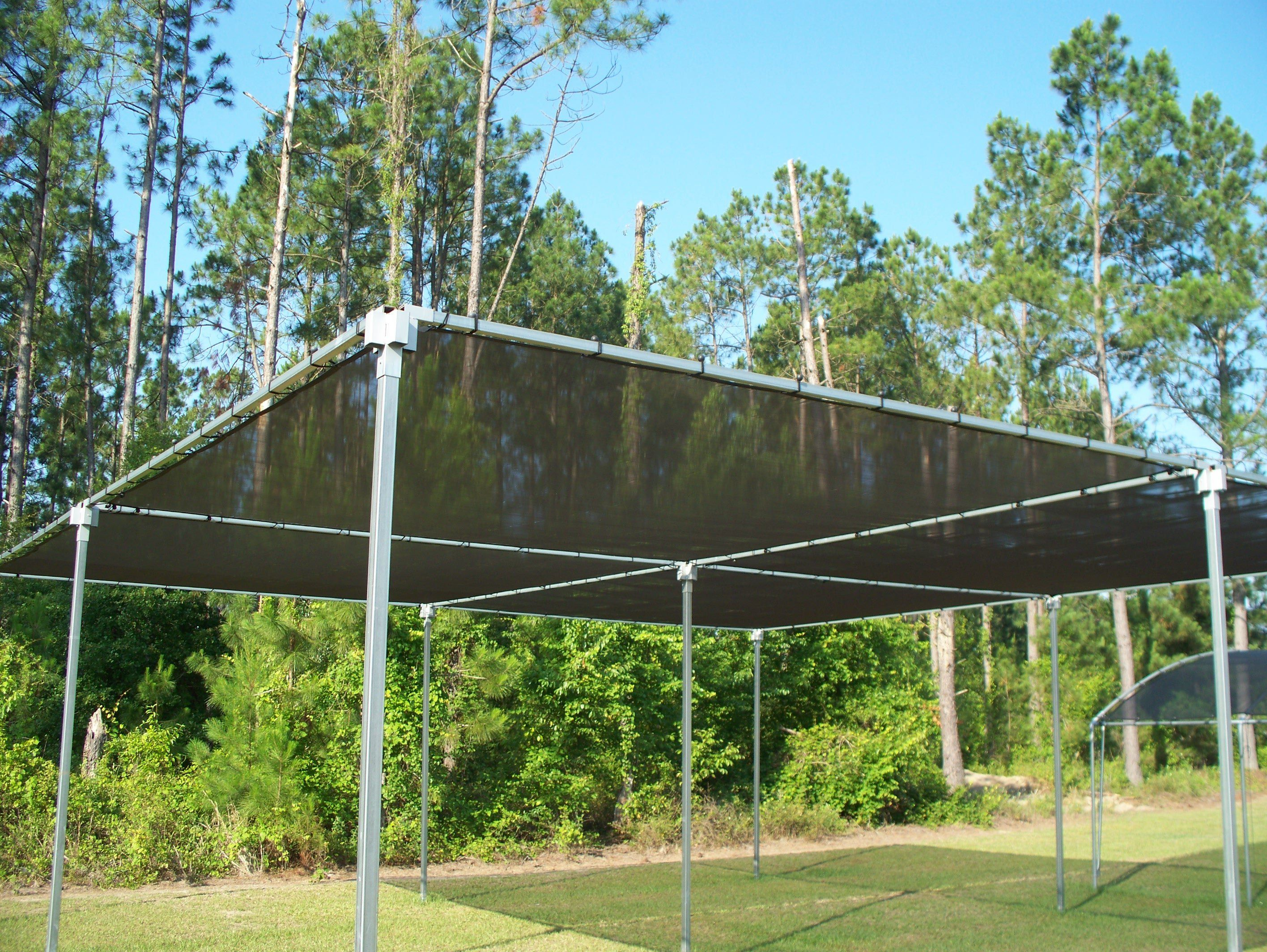 Flat Top Shade Atlas Greenhouse Shade Structure Outdoor Shade Diy Shades