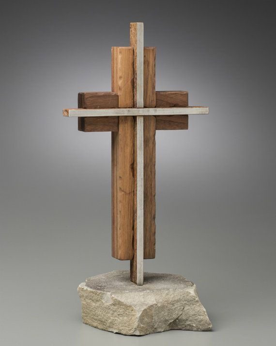 The Unity Cross R Steel And Weathered Solid Black Walnut Wedding CeremonyOur