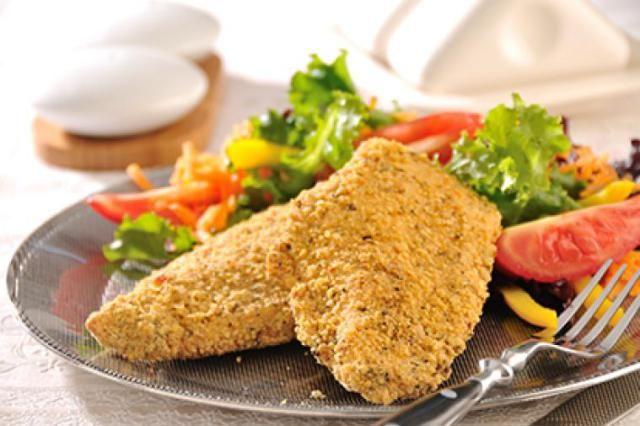 como hacer milanesa de pollo para dieta