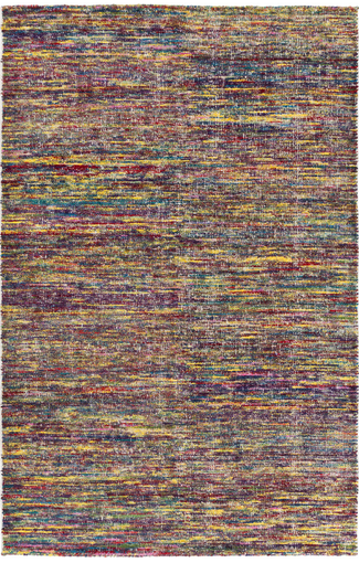 100% cotton hand-knotted Bazaar rug from Surya- made from recycled materials! (BZR-8001)