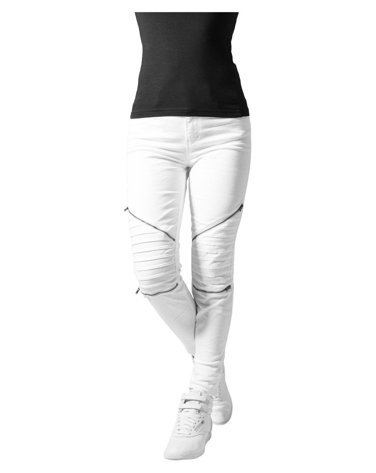 894ecb64745 Urban Classics Dame Stretch Biker Pants Oliven | Gothic clothes ( no ...