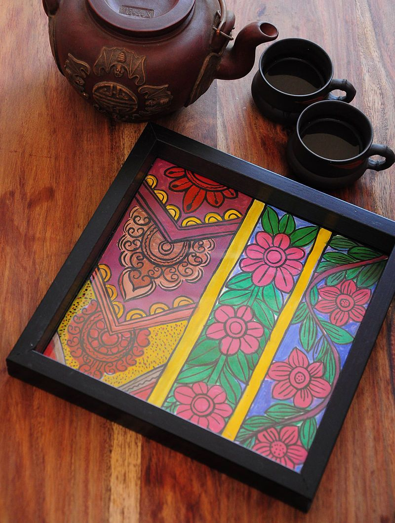 Buy Online at Jaypore.com | Diy art painting, Small canvas paintings,  Painted pots diy