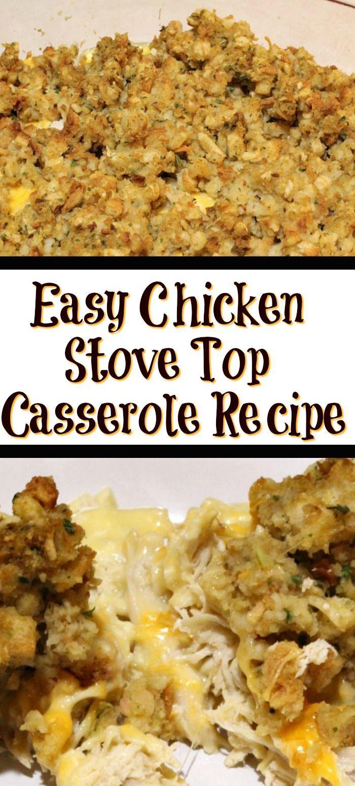 Easy Stove Top Casserole Recipe