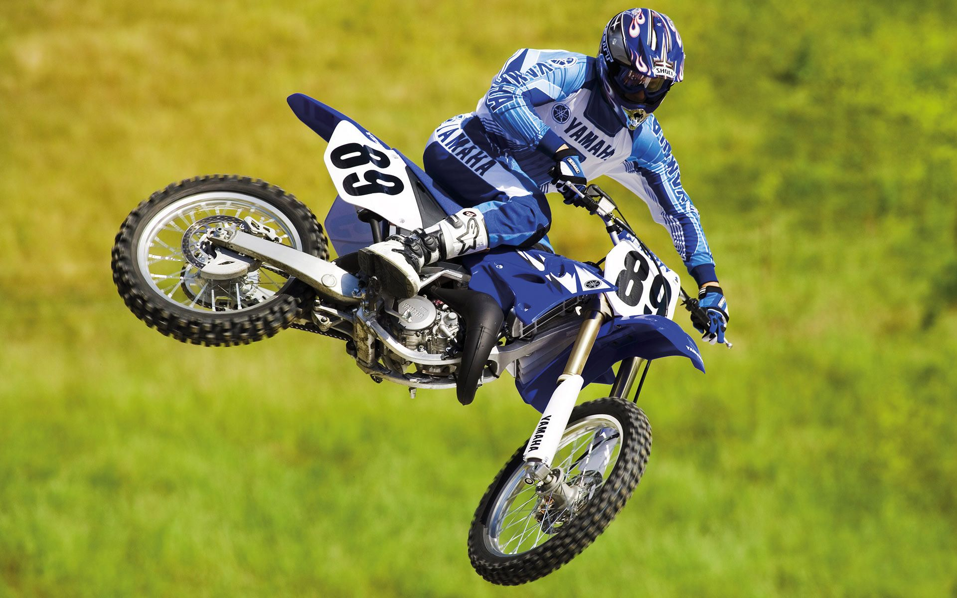 Yamaha Motocross Bike Wide Is An HD Wallpaper Posted In Motorcycles Category You Can Edit Original Image Download Free Covers For Facebook