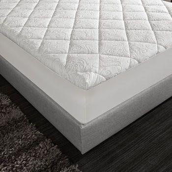 Novaform Serafina 3 Memory Foam Mattress Topper With Pillow Top
