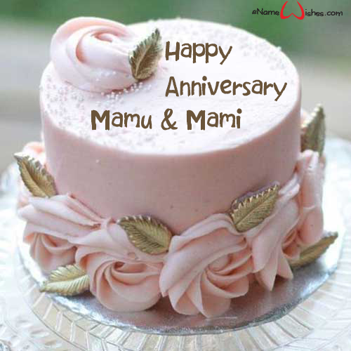Simple Anniversary Cake With Name Simple Anniversary Cakes