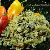 Photo of Mushroom Rice Pilaf #easyricepilaf Mushroom rice pilaf — my…