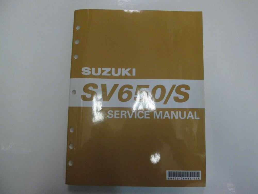 1999 2000 2001 2002 Suzuki Sv650 S Service Repair Workshop Manual New Suzuki Sv 650 S Suzuki Sv 650 Suzuki