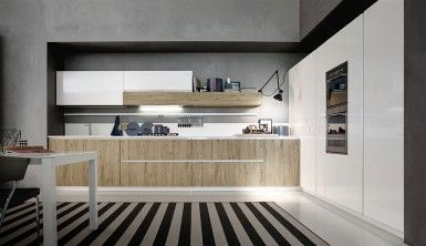 Innovative Contemporary Kitchen WIth Efficinet Storage Solut…