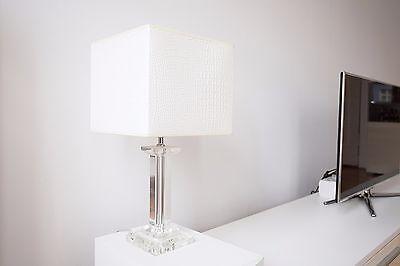 Rahaus Designer Stehlampe, Acrylglas klar / weiße Reptil, Guter Zustandsparen25.com , sparen25.de , sparen25.info
