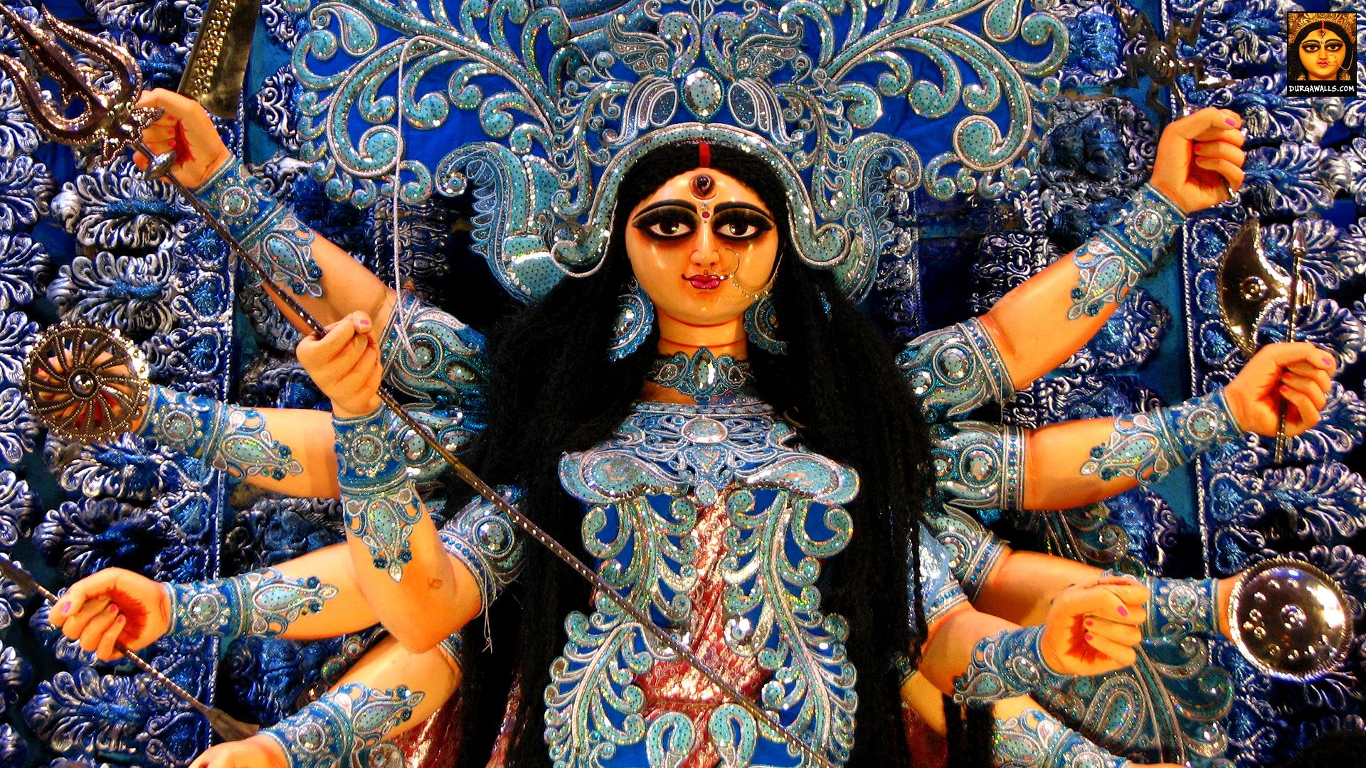 Hd Wallpaper Durga Puja Durga Durga Goddess