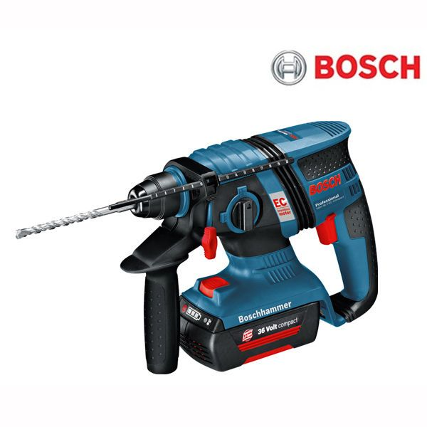 bosch gbh36v ec compact brushless 36v 2 0ah li ion sds. Black Bedroom Furniture Sets. Home Design Ideas