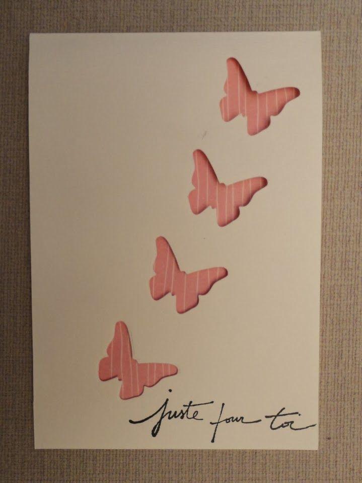 l 39 atelierscrap d 39 aurore carte papillons pour elodie mes r alisations mes cartes. Black Bedroom Furniture Sets. Home Design Ideas
