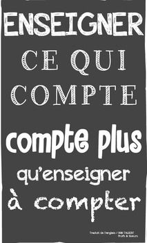 French Growth Mindset Poster Good Quotes For Instagram French Quotes Teacher Quotes