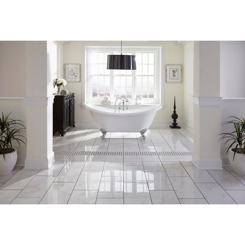 White And Black Basket Weave Ii Porcelain Mosaic 12 X 100104678