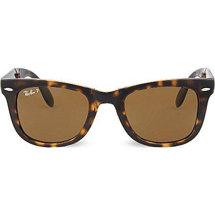 2394e06fb60 RAY-BAN - Light Havana square sunglasses
