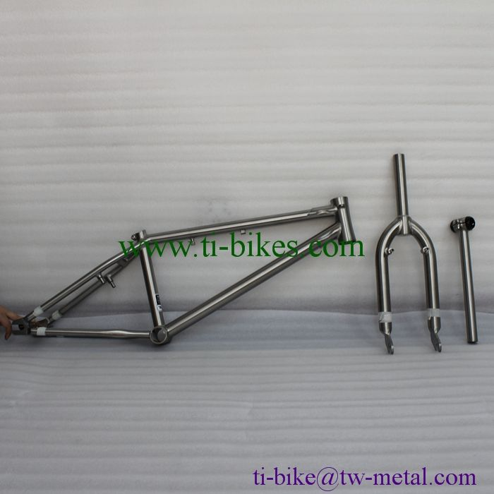 XACD Titanium BMX Bike Frame With Integrated Head Tube, Titanium Bmx ...