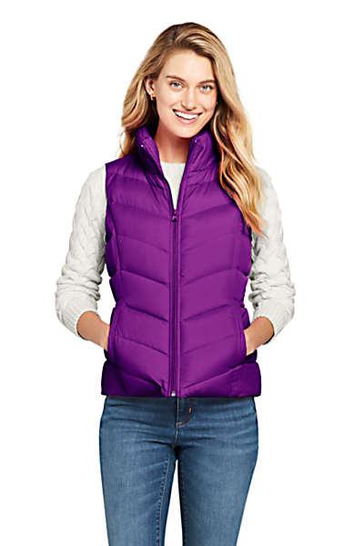 Women's Winter Down Puffer Vest #womenvest