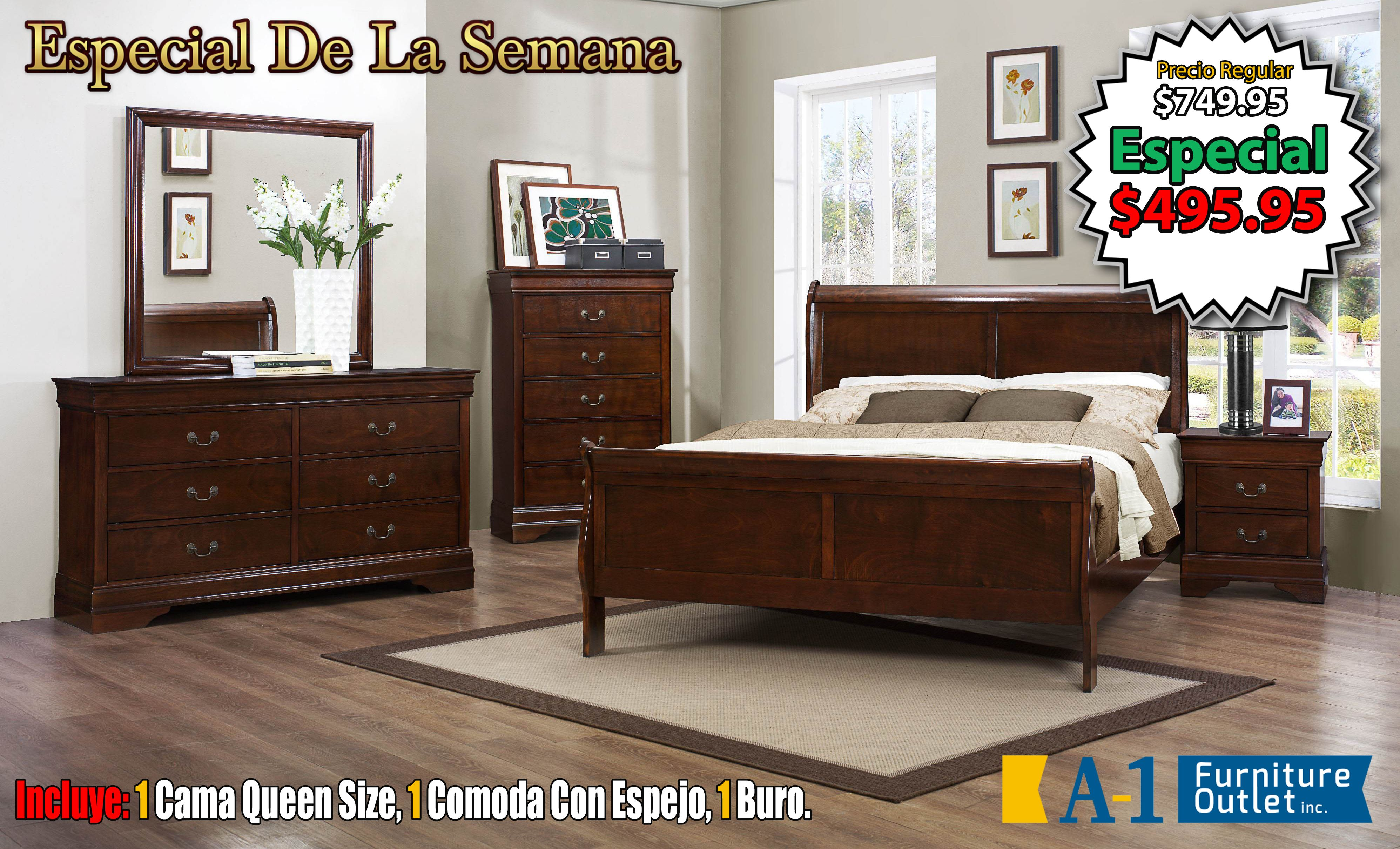 Pin by A-1 Furniture on A-1 Furniture | Sleigh bedroom set ...