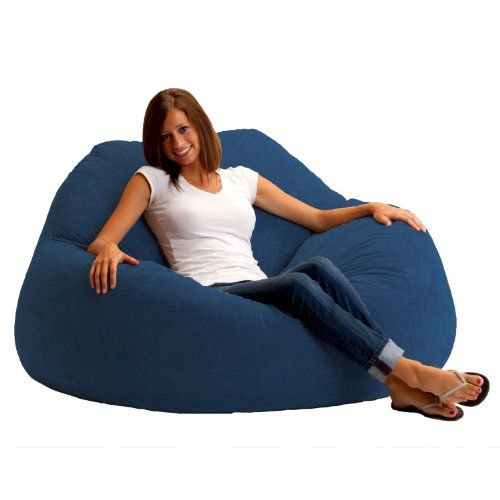Get Cozy With Your Partner In This Comfy Loveseat With Or Without Company It S The Ultimate Place To Watch Tv Play Games Or Read The Fi Bean Bag Chair Cool Bean