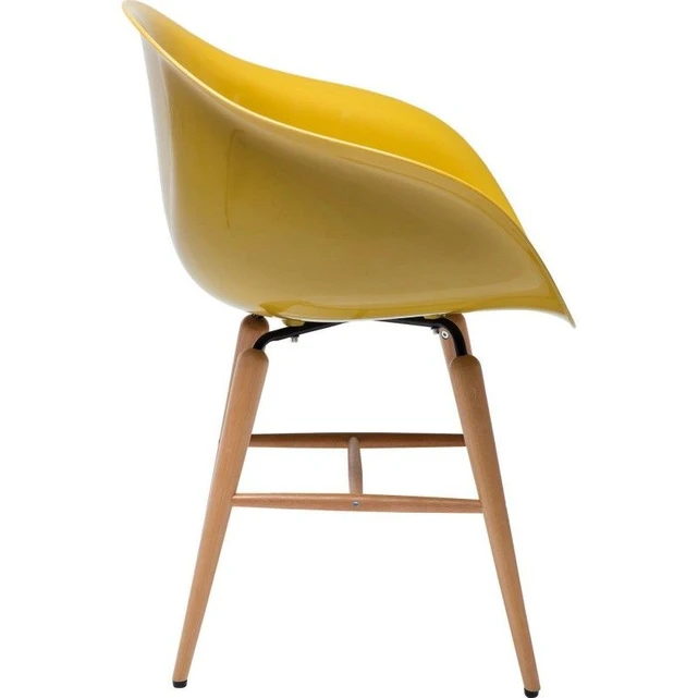 Chaise Avec Accoudoirs Forum Moutarde Kare Design Jaune Kare Design La Redoute Chaise Chaise Fauteuil Chaise Accoudoir