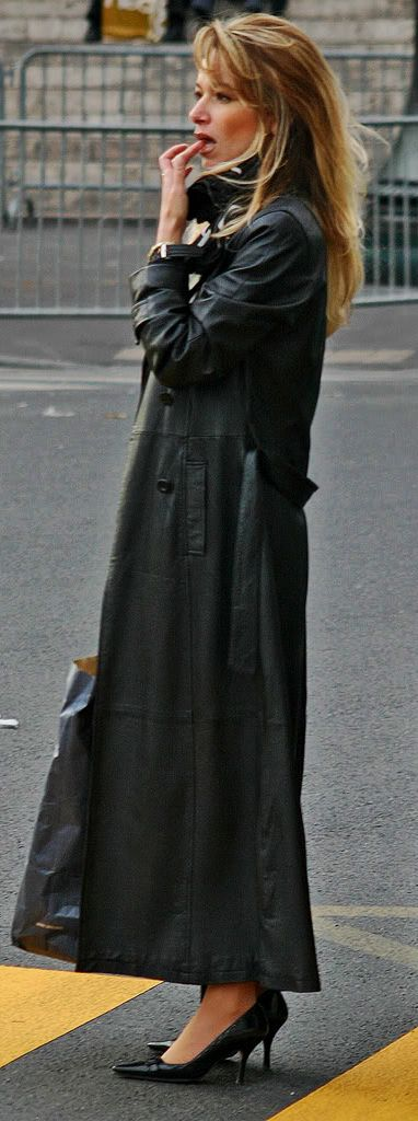 Pin by danny on very very nice x | Pinterest | Leather, Long black ...