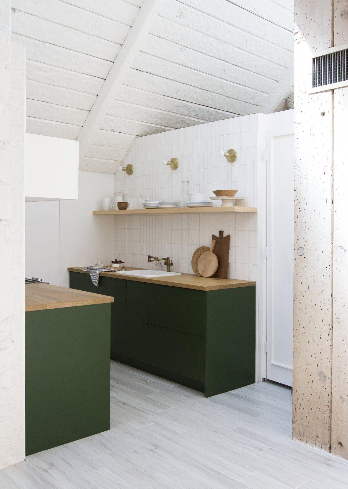A Chic Renovated A Frame In Palm Springs Asks 535k Diy Kitchen Renovation Interior Design Kitchen Kitchen Style