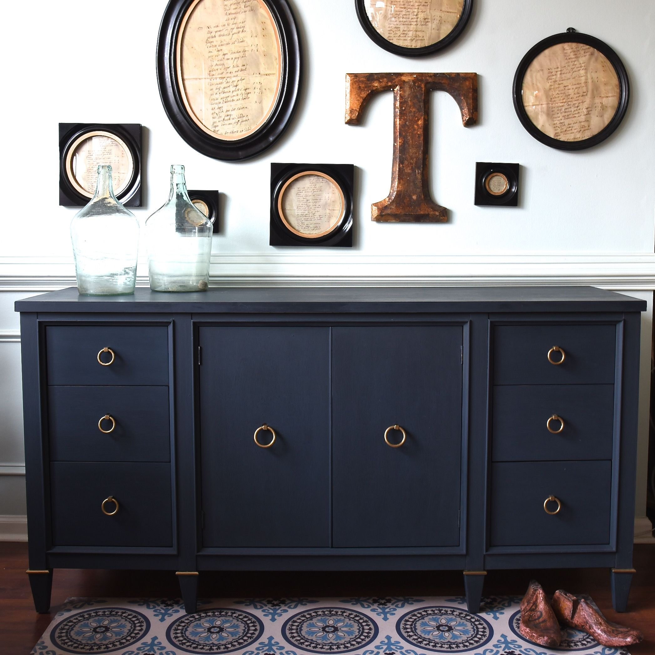 We Mixed Cobalt Blue Dark Gray To Achieve This Blue But You Can