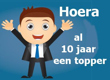 10 jaar in dienst leuke 10 jaar in dienst felicitatie plaatjes met tekst: al 10 jaar  10 jaar in dienst