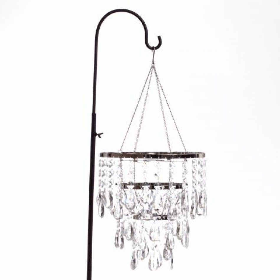 3 Tiered Diamond Tear Drop Chandelier [927-HLLG503 Diamond ...