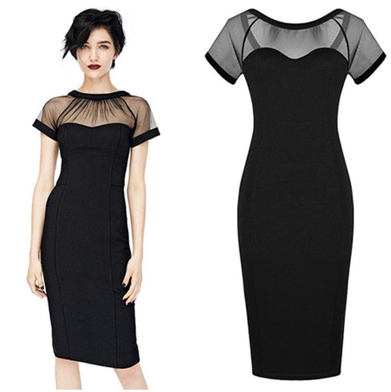 Find More Dresses Information about Business Casual Dresses Sexy ...