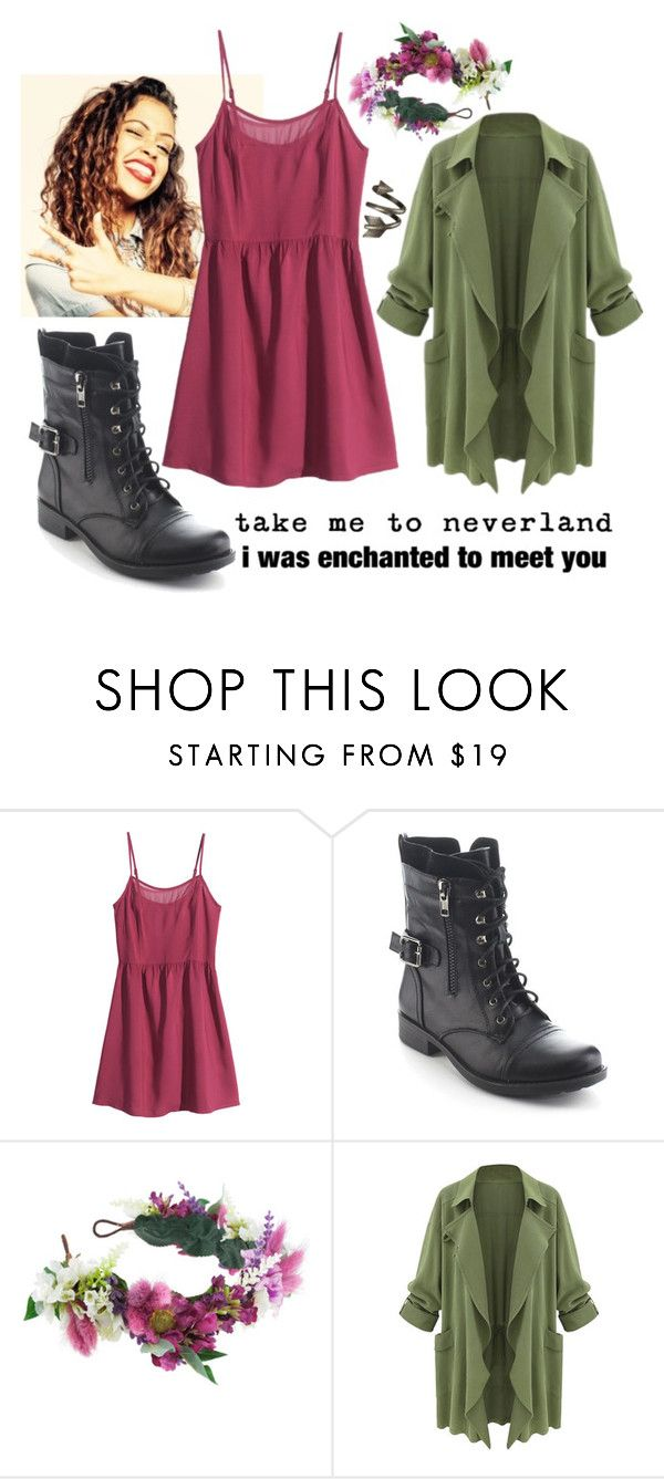 """""""I love you Liza Koshy!!!!! (Rtd)"""" by falloutgirl29 ❤ liked on Polyvore featuring H&M, Refresh, Rock 'N Rose and littlebrowngirlout"""