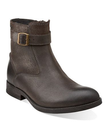 Take a look at this Dark Brown Goby Top Boot - Men by Clarks on #zulily today!