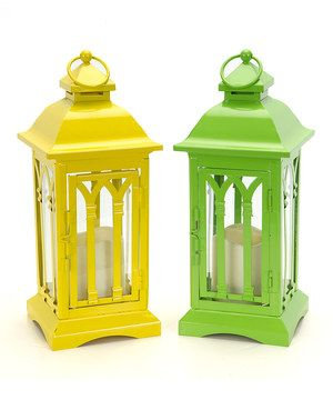Loving this LED Candle Lantern Set on #zulily! #zulilyfinds