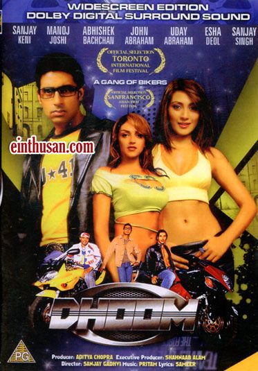 Dhoom (2004) Hindi in HD - Einthusan | BOLLYWOOD MOVIE POSTERS in